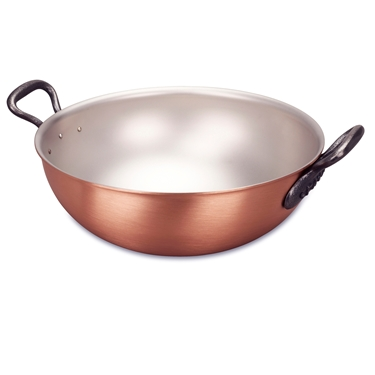 Picture of Classic Wok with loops, 28 cm (11 in) and steamer insert