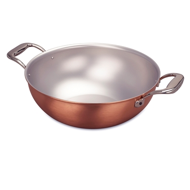 Picture of Signature Wok with loops, 28 cm (11 in) and steamer insert