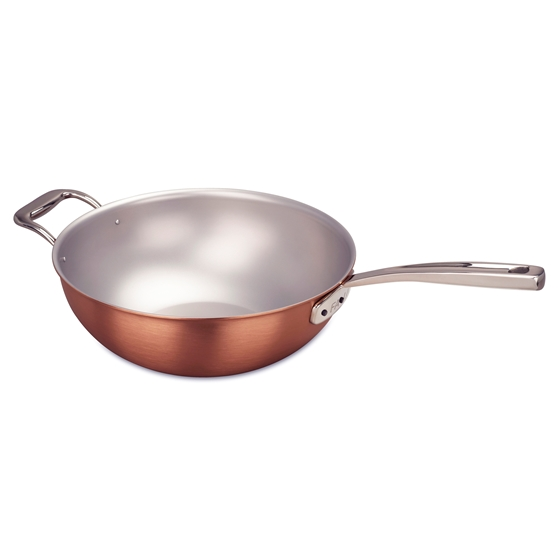 Picture of Signature Wok, 28 cm (11 in) and steamer insert