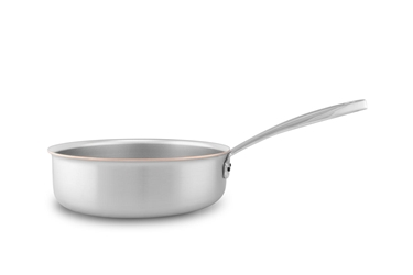Picture of Copper Coeur Saute Pan, 24 cm (9.4 in)