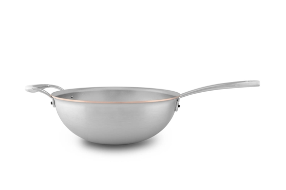 Picture of Copper Coeur Stir Fry Pan, 24 cm (9.4 in)