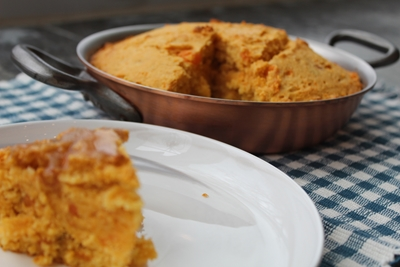 Quick Sweet Potato Honey Cornbread